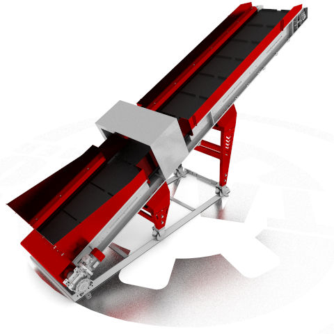 Ленточные транспортеры общий вид транспортер стружки ленточный