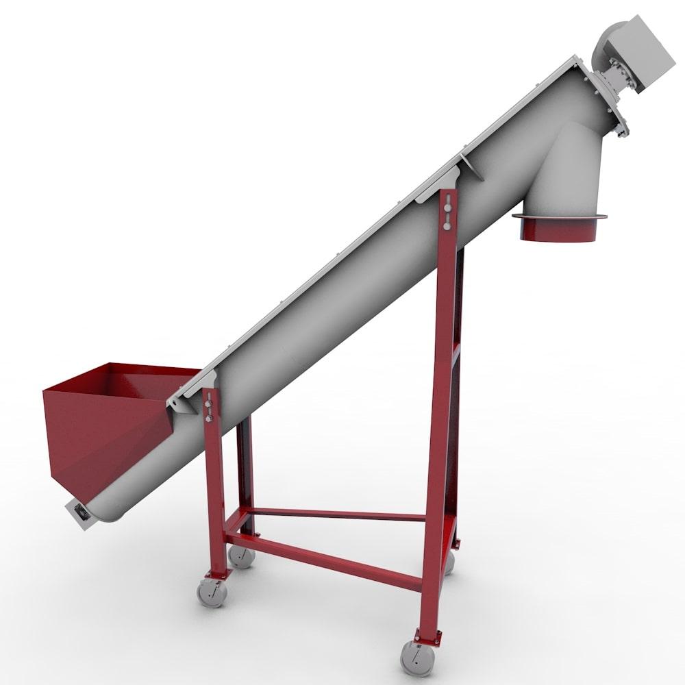 Шнековый транспортер шт типы вертикальных конвейеров
